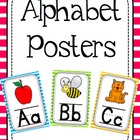 Alphabet Posters - Stripes