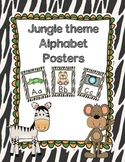 Jungle Theme Alphabet Posters