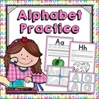 Alphabet Practice - Handwriting Sheets &amp; Playdoh Mats