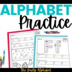 Alphabet Practice ~ Letter Recognition & Initial Sounds