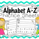 Alphabet Practice Sheets {write & search}