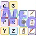 Alphabet Printable File Folder Game PDF - Matching Picture