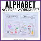 Alphabet Printable Pages: The Alphabet Series