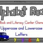 Alphabet Road Block/Literacy Center Game:  Uppercase/Lower