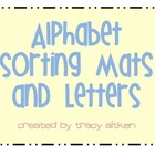 Alphabet Sorting Mats (Sorting Different Letter Fonts)