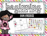 Alphabet Sounds Sort Freebie