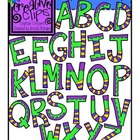 Alphabet Soup {Creative Clips Digital Clipart}