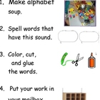 Alphabet Soup Task Card