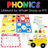 Alphabet-Tastic Learning for Whole Group & RTI