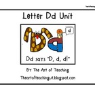 Alphabet Unit: Letter Dd