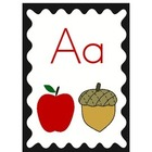 Alphabet Wall Cards-Cute & Colorful!