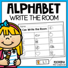 Alphabet Write the Room Center