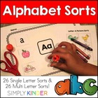 Alphabet and Initial Sound Sorts
