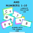 Alphabet and Number Cards Ready to Print