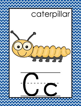 Alphabet and Number Cards for the Primary Classroom {Prima
