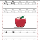 Alphabet and Numbers Tracing worksheets