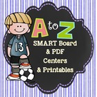 Alphabetical Order Lesson, 2 Centers, and Student Packet