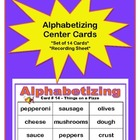 Alphabetizing Center Cards (Set of 14)