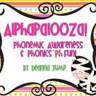 Alphapalooza Phonemic Awareness and Phonics Fun