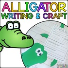 Alyson the Alligator { Animal Craftivity and Writing Prompts! }