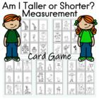 Am I Taller or Shorter? Card Game