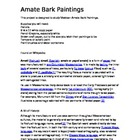 Amate Bark Paintings