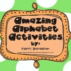 Amazing Alphabet Activities Pack!