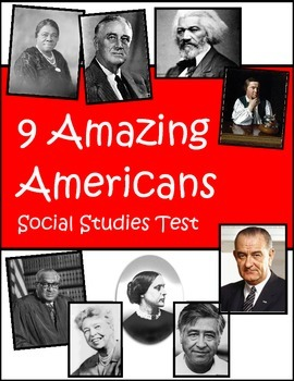 Amazing American Third Grade Social Studies Test