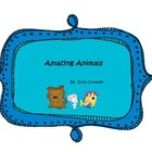 Amazing Animals {FREEBIE}