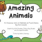 Amazing Animals: Habitats and Food Chains
