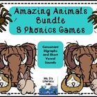 Amazing Animals - Wilson Reading/ phonics games
