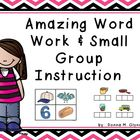 Amazing Complete Word Work Centers &amp; Small Group Instruction