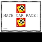 Amazing Math Centers - MathCar Race!