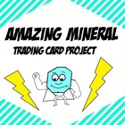 Amazing Mineral Trading Card Project