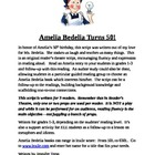 Amelia Bedelia Reader&#039;s Theatre