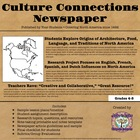 America: Culture Connections Group Newspaper (Aligned to E
