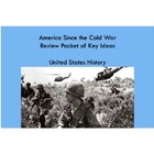 America Since the Cold War: Review Packet