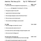 "America the Story of Us - Episode 12: ""Millennium"" Viewing Guide"