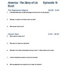 "America the Story of Us - Episode 9: ""Bust"" Viewing Guide"