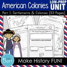 American Colonies Unit- 43 PAGES!!