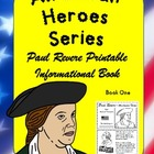 American Heroes Series- Book One-Paul Revere Printable Book