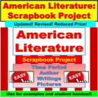 American Literature: Scrapbook Project