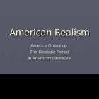 American Realism Literary Unit Introduction Presentation
