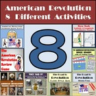 American Revolution Bundle - 8 Different Activities includ