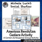 American Revolution Centers Investigation &amp; Project Assign