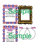 American Revolution Enrichment File Folder Activities / Centers