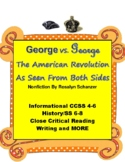 American Revolution: George vs. George Nonfiction by Schanzer 4-8