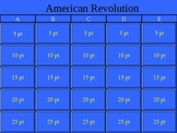 American Revolution Jeopardy!