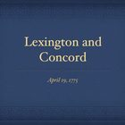 American Revolution Lexington and Concord QT Slideshow