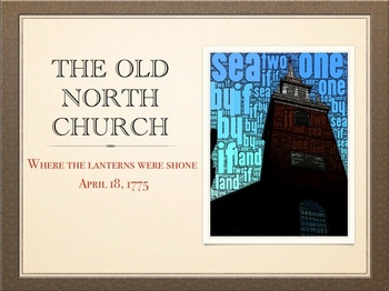 American Revolution - Old North Church and Paul Revere QT